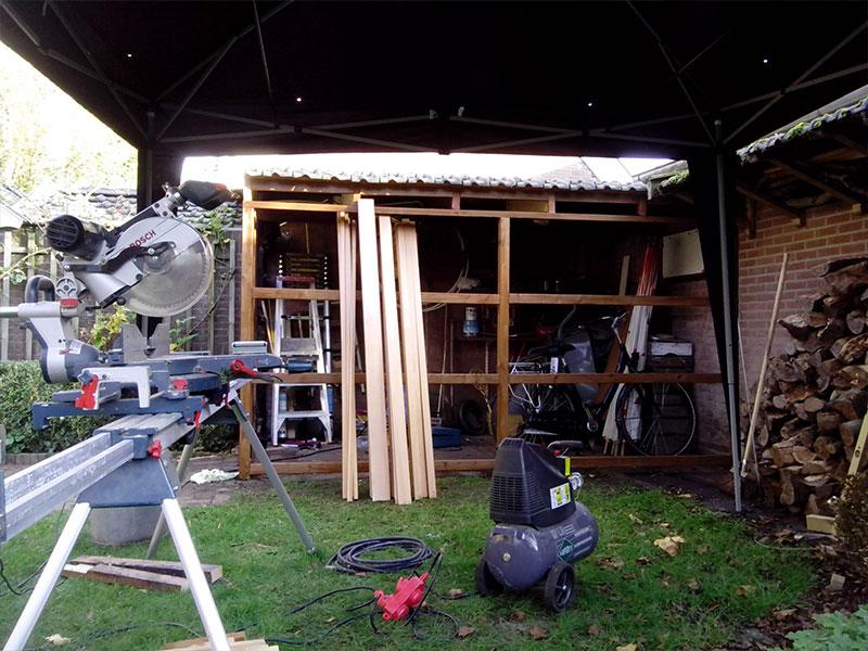 rodith klussendienst hengelo renovatie schuur 3